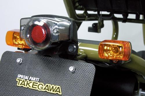 【SP武川】Blaze  HONDA方形方向燈(2個/組t/橘色) - 「Webike-摩托百貨」