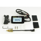 【SP武川】LCD 綜合溫度錶組(電池驅動/外部電原背光型式附PT1/8溫度感知器) - 「Webike-摩托百貨」