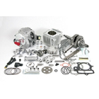 SP TAKEGAWA Twin Spark SUPER HEAD + R Bore & Stroke Up Kit 124 cc with Automatic Decompression