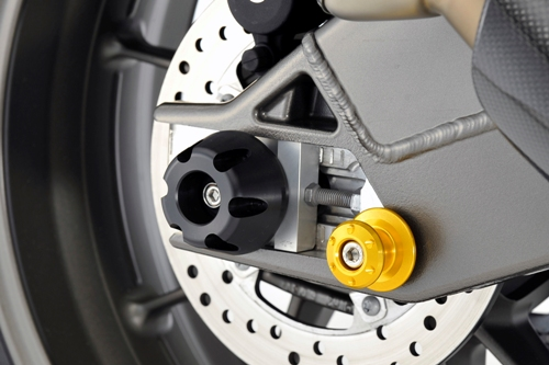 【AGRAS】後輪軸 保護滑塊 (防倒球) - 「Webike-摩托百貨」