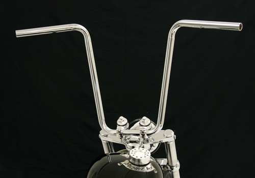 SCOOP 把手 (鍍鉻 無配線用凹痕/配線孔加工完成)