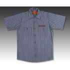 【BREDGE】【BREDGE×RED KAP】 短袖條紋工作襯衫