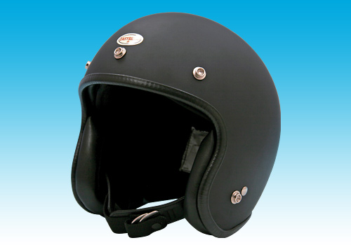 70s 小型安全帽 消光黑1