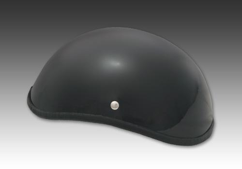 半罩安全帽2 黑色 無貼紙