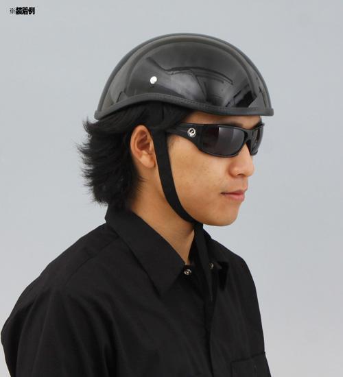 【EASYRIDERS】半罩安全帽2 黑色 無貼紙 - 「Webike-摩托百貨」