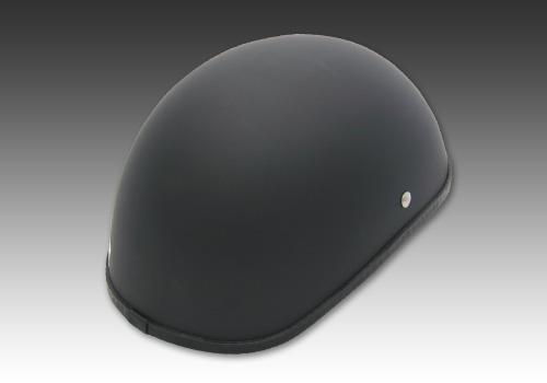 半罩安全帽2 霧黑色 無貼紙