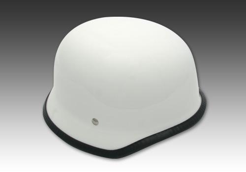 德國安全帽2 白色 無貼紙