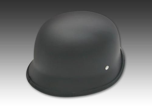 德國安全帽2 霧黑色 無貼紙