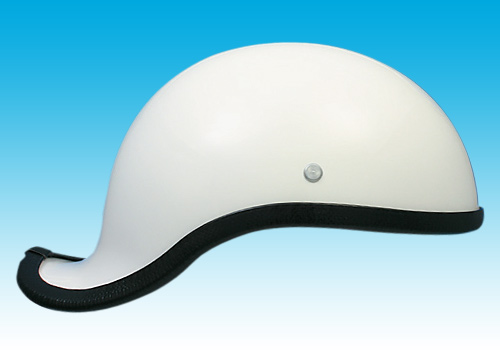 Gangster2安全帽 白色 無貼紙