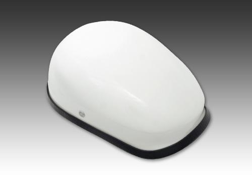 獵人安全帽 白色 無貼紙