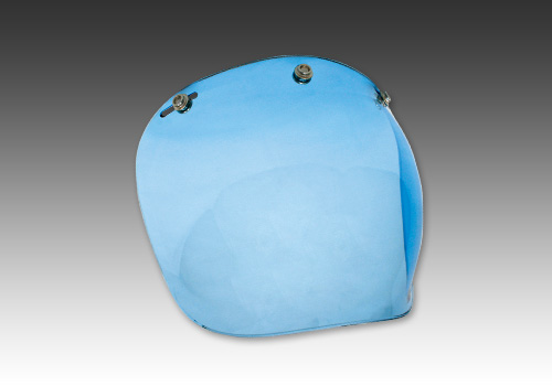 泡泡安全帽鏡片 藍色