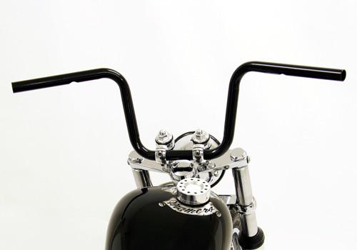 Mini SCOOP 把手 (黑色 無配線用凹痕/配線孔加工完成)
