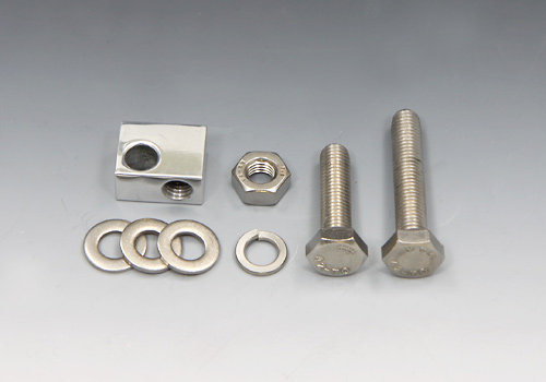 頭燈固定塊 (鋁合金/14mm) 組