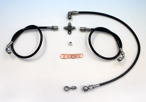 不鏽鋼前金屬煞車油管套件