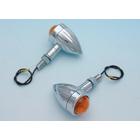 【EASYRIDERS】細長型 Brett 方向燈 (電鍍・橘色燈殼)