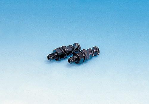 方向燈安裝螺絲 10mm 短 黒【Rose1個】