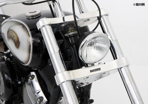 【EASYRIDERS】4-1/2吋 頭燈 (消光黑色本體) - 「Webike-摩托百貨」