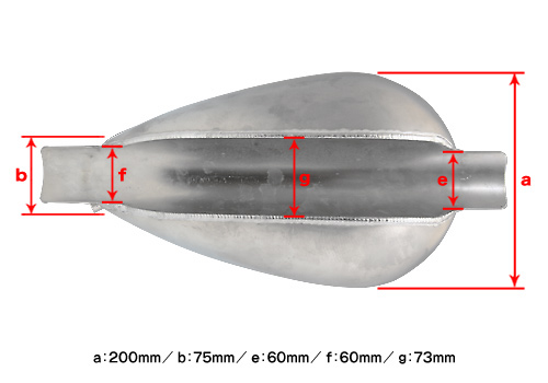 【EASYRIDERS】Egg 鋁合金油箱 - 「Webike-摩托百貨」