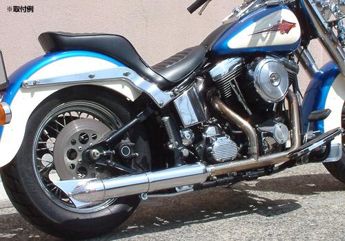 【EASYRIDERS】Knuckle-style 排氣管尾段 (鍍鉻) - 「Webike-摩托百貨」