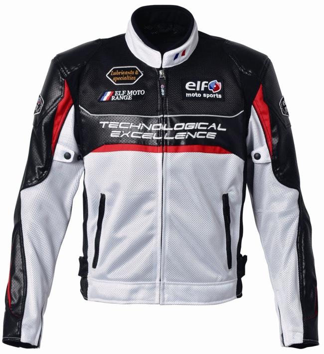 エルフ EL-4226ジャケット ホワイト Lサイズ 1着
