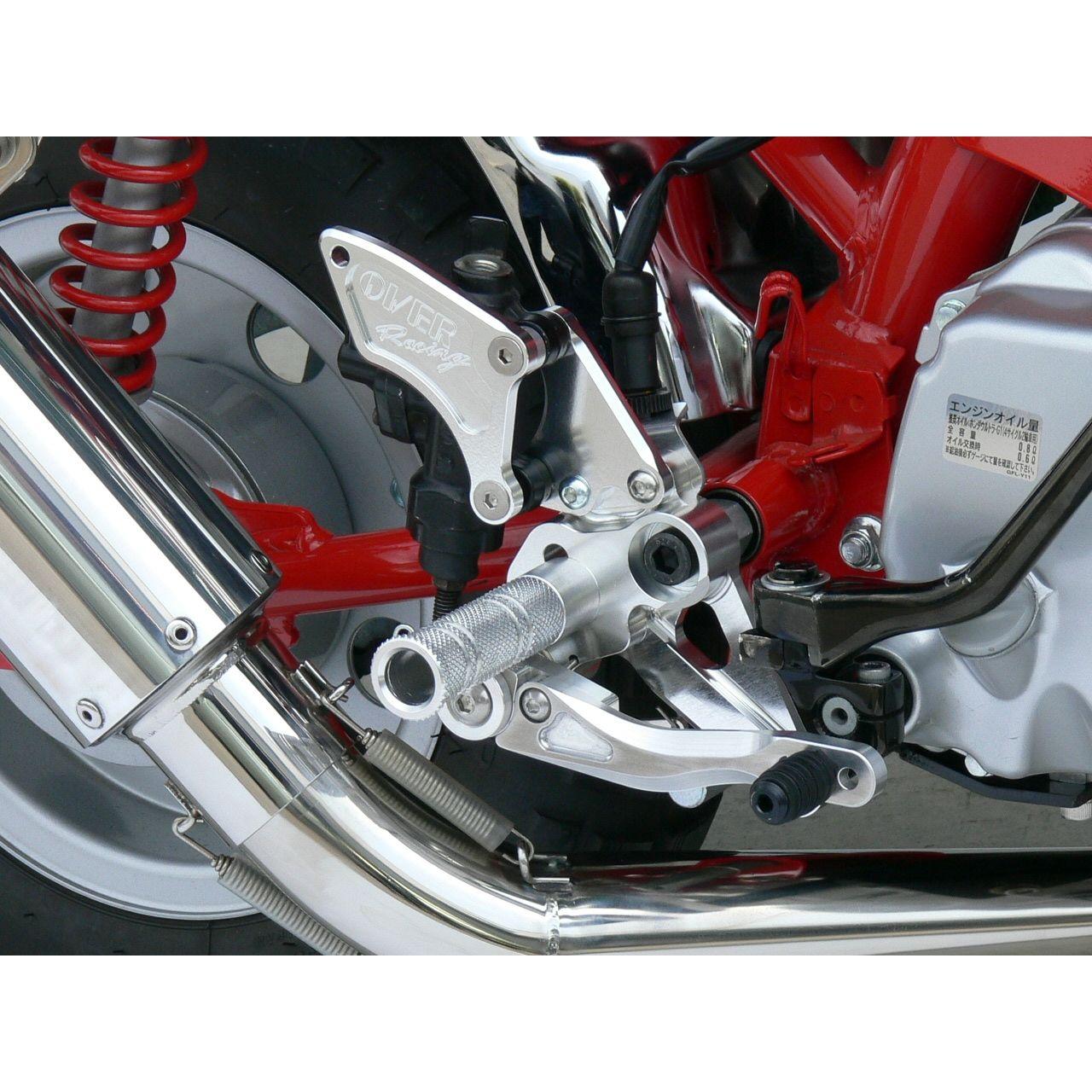 腳踏後移套件3點安裝位置  (後碟煞型式)