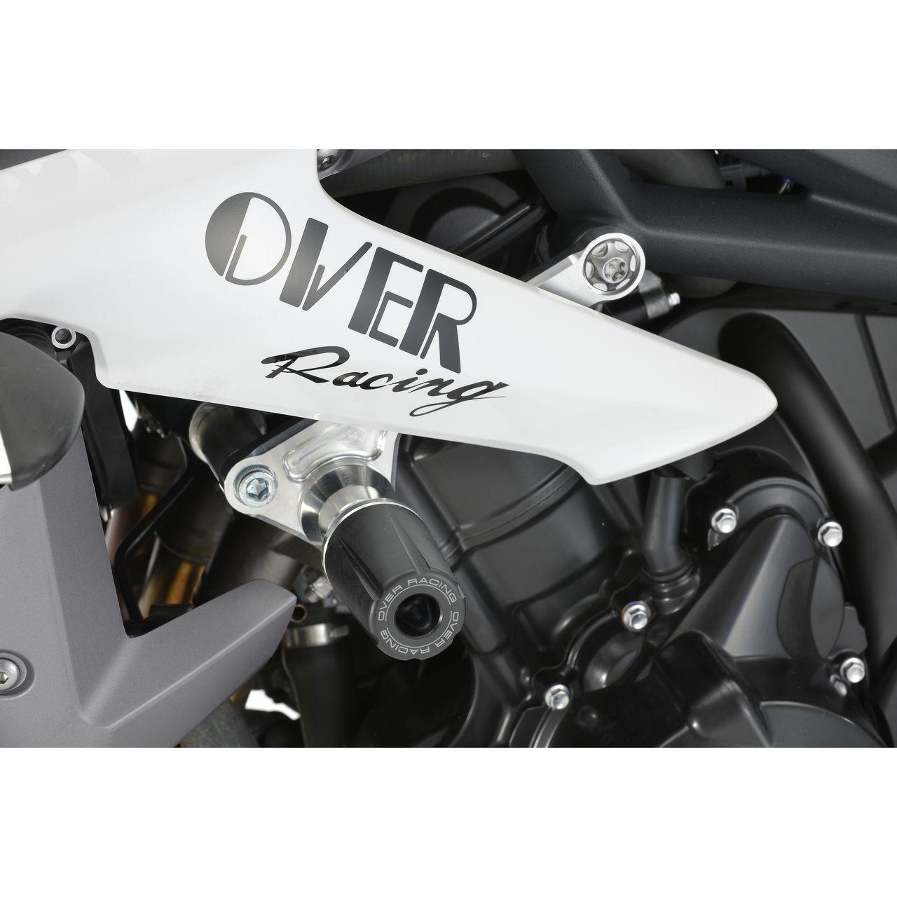 【OVER】車架滑塊(防倒球) - 「Webike-摩托百貨」
