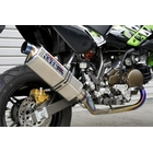 OVER TT - Formula Full titanium Slip - on muffler
