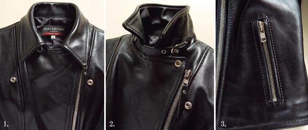 【KADOYA】SL-W1 VS 皮革外套(Double) - 「Webike-摩托百貨」