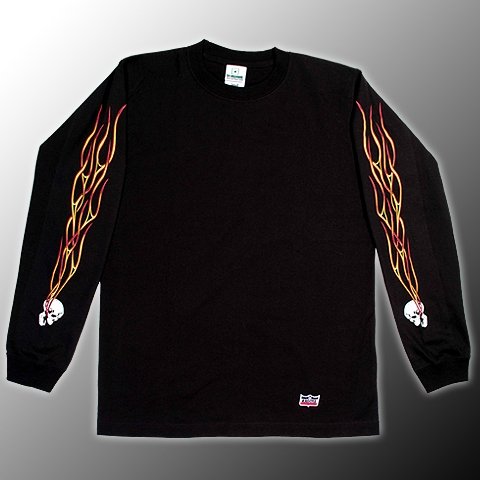 FLAME HEAD 長T恤