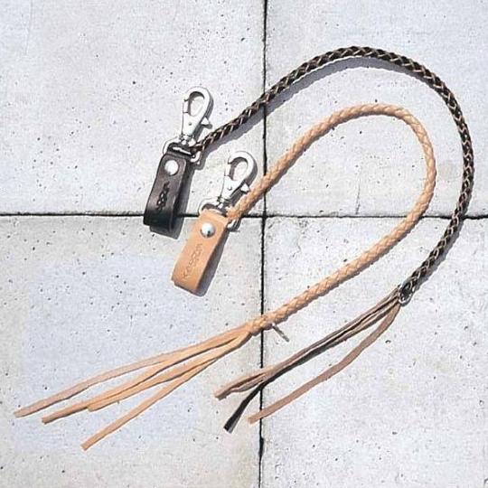 皮革錢包吊繩 A