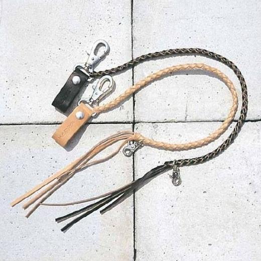 皮革錢包吊繩 B
