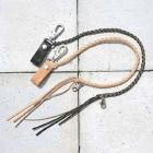 【KADOYA】皮革錢包吊繩 B