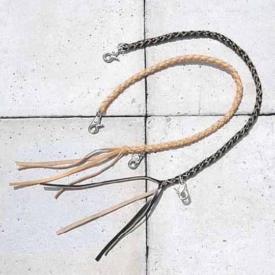 皮革錢包吊繩 C