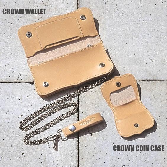 【KADOYA】CROWN 零錢包 - 「Webike-摩托百貨」