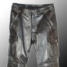 【KADOYA】KS LEATHER 皮革製口袋騎士褲 - 「Webike-摩托百貨」