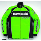 カワサキ:KAWASAKI/カワサキチームグリーンウインタージャケット