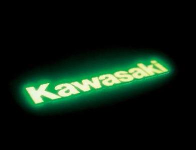 【KAWASAKI】Kawasaki 夜光貼紙 - 「Webike-摩托百貨」