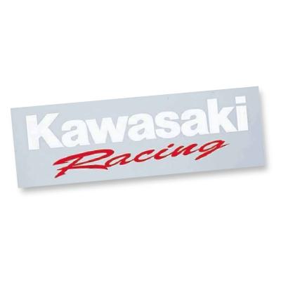 【KAWASAKI】Kawasaki 競賽型貼紙(純文字) - 「Webike-摩托百貨」