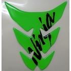 Kawasaki油箱貼紙Lime 綠色N KAWASAKI