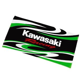 Kawasaki 車隊浴巾