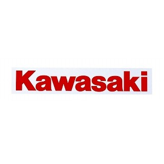 Kawasaki 貼紙(純文字)