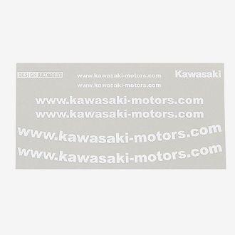 Kawasaki web網址貼紙