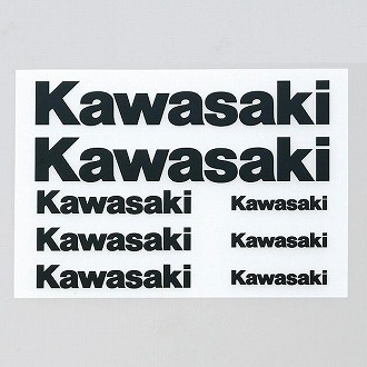 Kawasaki 熱轉印貼紙套組