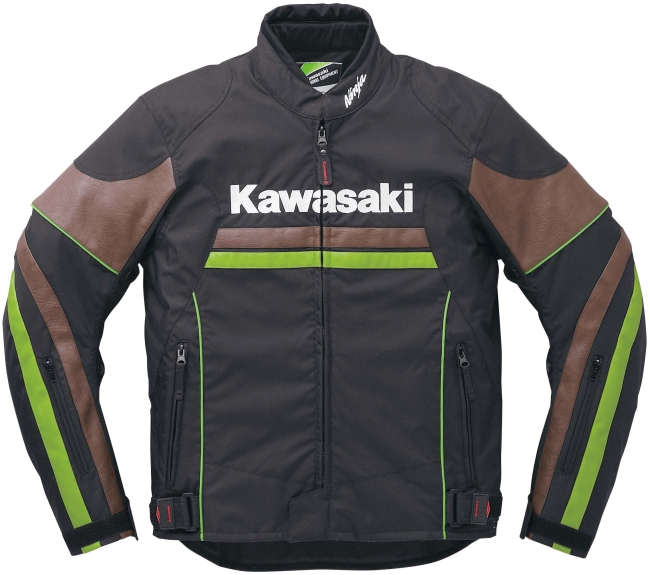 KAWASAKI圖案通風夾克