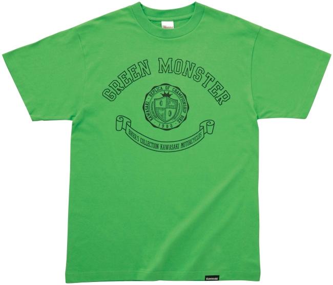 Kawasaki Bikers CollectionT恤(GREEN MONSTER)