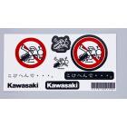 【KAWASAKI】Kawasaki 貼紙 - 「Webike-摩托百貨」