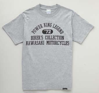 Kawasaki Bikers collectionT恤 Z1 LEGEND