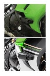 【KAWASAKI】引擎保護塊(防倒球) Ninja650 - 「Webike-摩托百貨」