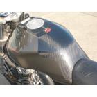 【CLEVERWOLF】碳纖維油箱保護貼 (平織) - 「Webike-摩托百貨」