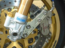 標準型卡鉗固定座 正立式前叉專用
